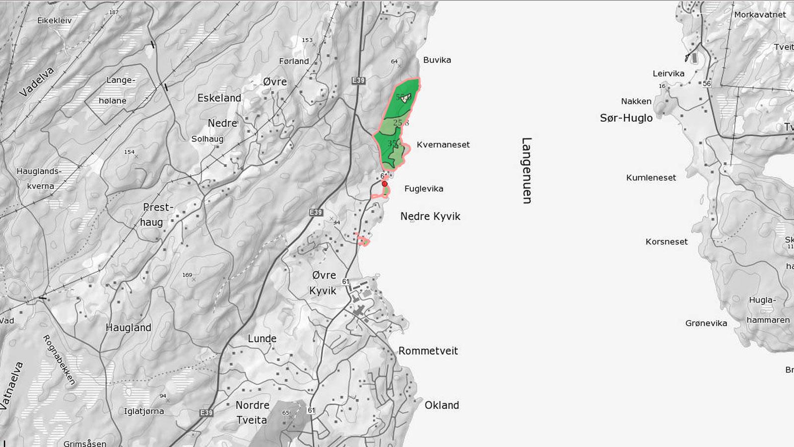 selje kommune kart